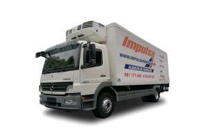 Alquiler camion pesado frio