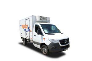 Alquiler  camion carrozado frio