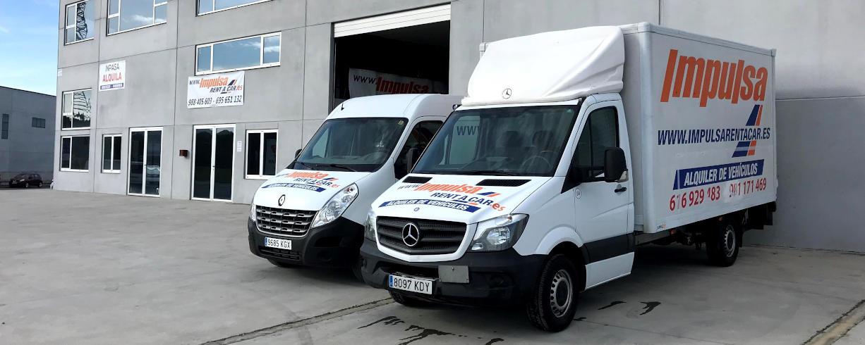 Alquiler y venta de furgonetas y coches